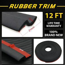 12FT Z Channel Waterproof/Dustproof Tape Rubber Weatherstrip For FORD Pickup