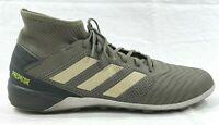 Adidas Men Predator 19.3 TF Cleats Futsal Gray Soccer GYM Boots Spike EF8210