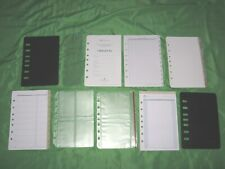 Classic 1 Year Undated Refill Tab Page Lot Franklin Covey Planner Fill Set A