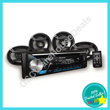 """Pioneer Car Stereo Receiver With Built-In Bluetooth And 4 Speakers 6.5"""" + 6x9"""""""