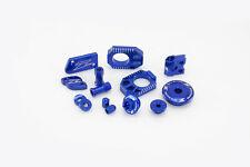 New Zeta Billet Kit YZ 125 250 09-17 Res Covers Wheel Engine Kit Blue 10 11 12