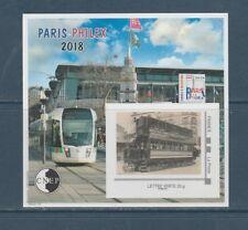 bloc CNEP  Paris-Philex  train tram   2018    num: 78 nouveauté