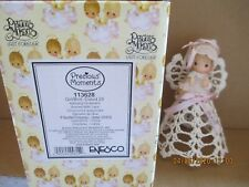 Precious Moments 2003 Dated Ornament Graced with Lace 113628