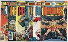 Hercules Unbound #1 - 12  Complete Set  avg. VF/NM to NM- 9.0/9.2  DC  1975