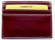 Thin Slim Faux Leather credit card holder wallet purse for 7 credit debit cards