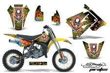 AMR RACING OFF ROAD NUMBER PLATE BACKGROUND DECAL SUZUKI RM 85 02-12 ED HARDY PY