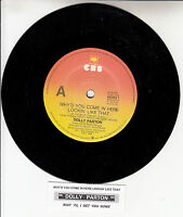 """DOLLY PARTON Why'd You Come In Here Lookin' Like That 7"""" 45 rpm vinyl record NEW"""