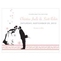 48 Vintage Hollywood Printed Wedding Save Date Cards