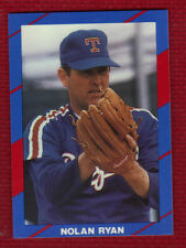 NOLAN RYAN 1990 Broder Issue Texas Rangers HOF