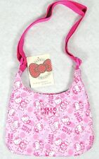 Petit sac bandoulière Hello Kitty rose décor bonbons