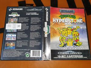 ## SEGA Mega Drive - Turtles: The Hyperstone Heist / MD Spiel ##