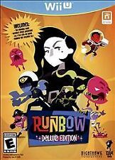 WII U RUNBOW DELUXE EDITION BRAND NEW VIDEO GAME