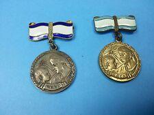UDSSR Silber Bronze Orden Medaille Mutterschaft 2 Stück Russland