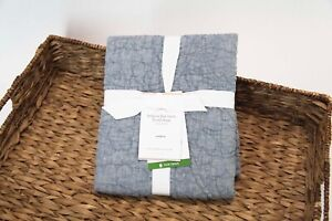 *NEW*w/tags $65.50 Pottery Barn Belgian Flax Linen Sham in Chambray    Standard