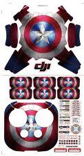 DJI  Phantom Skin Sticker Set Captain Am   Camoufla decals sticker for Phantom 3