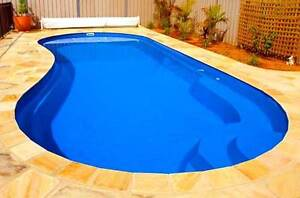 FRANKS POOLS / Fibreglass Swimming Pools - DIY Pools Australia - 10 mtrs Miami