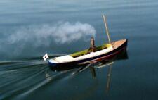 "Saito Steamboat ""New Star"" Open Boat Model Ship Hull Kit New F/S from Japan"