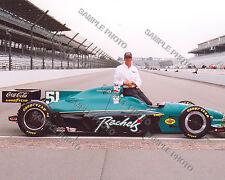 EDDIE CHEEVER JR. 1998 INDY 500 WINNER AUTO RACING 8X10 PHOTO