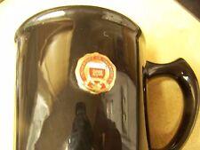 University of Oklahoma metal logo black coffee mug cup
