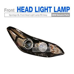 OEM Parts Front Head Light Lamp Assembly RH 1EA for KIA 2017 - 2018 Sportage QL