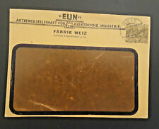 1931 Weiz Austria Electric Industry White Factory Cover