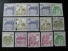 BERLIN GERMANY valuable Castles booklet stamp collection! CV $60.00