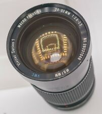 Vivitar Series 1 28-90mm F2.8-3.5 VMC Canon FD Mount Zoom Lens SLR/Mirrorless