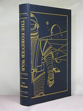 signed by 2(author,artist),The Forever War by Joe Haldeman, Easton Press,classic