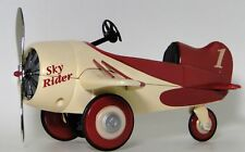 Aircraft Airplane Model 1 Military WW1 Air Craft Plane Vintage Red 48
