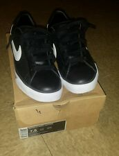nike blazer low sweet classic leather BRS black and white shoes sz7.5 for $200