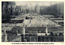 Rekruten-Vereidigung des Gardekorps vor dem Kaiser im Lustgarten zu Berlin 1908