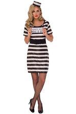 Prisoner Woman Adult Costume Medium Halloween 10-14