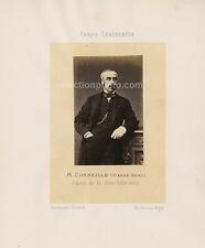 Photo DÉPUTÉ de SEINE-INFÉRIEURE 1864 - Pierre Rémy CORNEILLE - Albumine 6x10cm