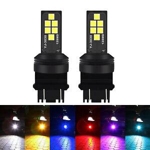 G4 AUTOMOTIVE 2x 3156 3157 LED Bulbs 3030 High Bright Colorful Brake Tail Light