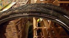 Schwable marathon tyres X2 (minimal use)