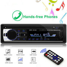 1DIN In-Dash Car Radios Stereo Remote Control Audio FM Transmitter Mp3 Player