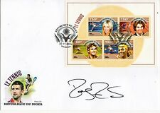 "Roger Federer  ""Tennis Legends"" Signed 2014 RARE First Day Cover"