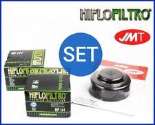 2x Hiflo Filtro Olio HF164 + Chiave filtro olio Husqvarna TR 650 ABS Strada