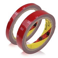 1Roll 12mm Strong Car 3M Traceless Form Tape Adhesives Acrylic Waterproof Tool