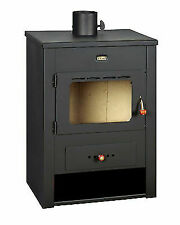 Wood Burning Stove Fireplace Log Burner Solid Fuel 12kw Heating Power Prity K13