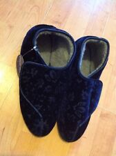 Ladies Beautiful Size 8 Blue Slippers, New Shop Clearance