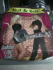 Couples Costume Nut (Female) & Bolt (Male) Sexy Adult Halloween Party Fast Ship