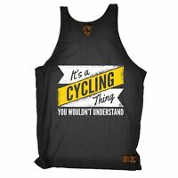A Cycling Thing - Breathable tshirt Clothing T SHIRT BELLE VEST SINGLET TOP