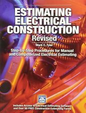 Estimating Electrical Construction by Tyler, Mark C.