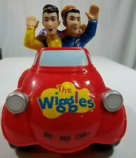 Spin Master 2003 The Wiggles Big Red Car Moving Singing Musical Toy Works 9C