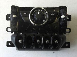 Genuine MINI Black Air Con Climate Control & Window Switches for R56 R55 LCI #3