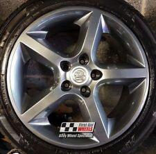 "R446A YOURS for Ours VAUXHALL ASTRA ZAFIRA SRI 4X 17"" 5 SPOKE GREY ALLOY WHEELS"
