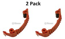 2 Pack Stens 635-188 Top Cover Buckle Clip Fits Husqvarna 503894701