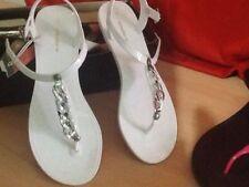 Buckle Flat (0 to 1/2 in.) Rubber Sandals & Flip Flops for Women