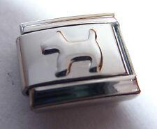 Silver DOG Italian Charm - Scottie Dogs Terrier 9mm fits Classic Bracelets N301